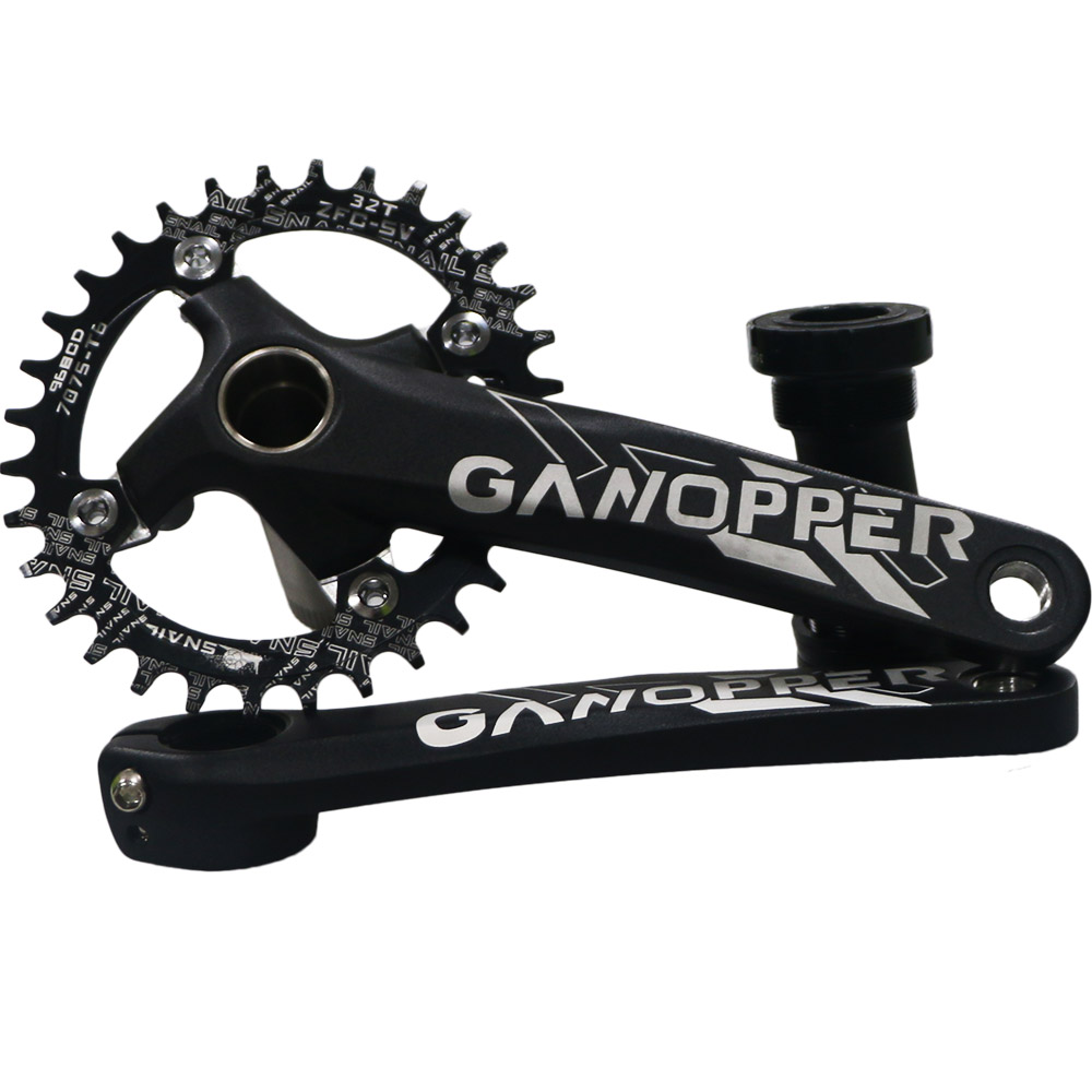 MTB Mountain Road Bike Crank Set 96BCD 175mm <font><b>32T</b></font> <font><b>Narrow</b></font> <font><b>Wide</b></font> Oval Chainring Fit SLX M782 M3000 M4000 M4050 M612 M622 M523 XTC820 image