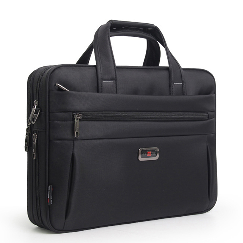 Business Briefcase 16 Inch Laptop Bag Handbag Men's Bag Oxford Cloth Large Capacity Handbags High Quality Shoulder Bags