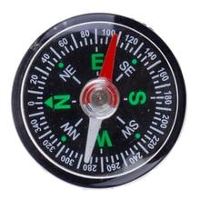 30 мм Мини Компас для кемпинга Пешие прогулки на открытом воздухе путешествия навигация дикий инструмент выживания