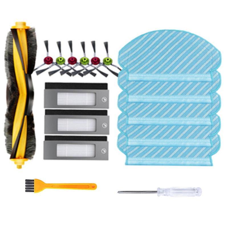 For Ecovacs Deebot OZMO 950 Roller Side Brush Filter Kit Vacuum Cleaner Parts Accessories For Home Cleaning Dust Filters Brushes