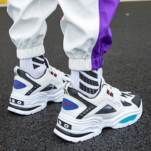 New Fashion Autumn Men Shoes Air Mesh Breathable Casual Soft Light Outdoor Sneakers Male Students Shoelace Cool