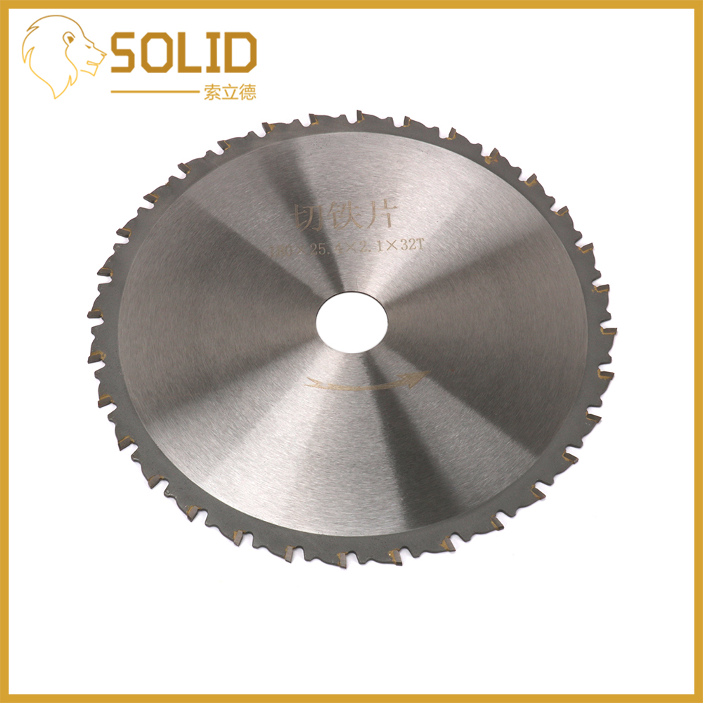Cutting Saw Blade 180mm Round Wheel Discs Circular Saw Blade For Iron Ordinary Steel Cutting Bore 25.4mm