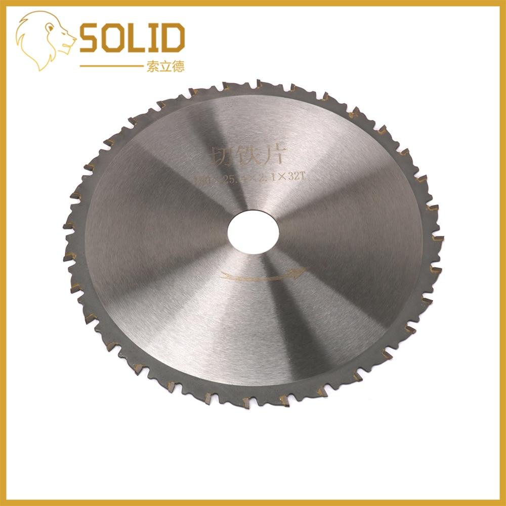 Cutting Saw Blade 180mm Round Wheel Discs Circular Saw Blade For Iron Ordinary Steel Cutting Bore 25.4mm