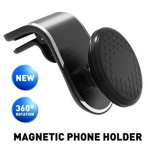 Car Phone Holder Magnetic Air Vent For VW Jetta Golf 4 5 7 6 Passat B5 B6 B7 Touareg Touran Polo Bora Tiguan Caddy CC GTI Beetle(China)