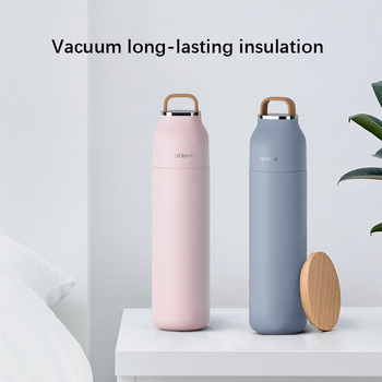 500ml Large Thermos Bottle Sport Vacuum Flask 304 Stainless Steel Tumbler 500ml Insulated Cup Travel Tea Cup Lid Water Bottles bullet stainless steel hot water bottle high end gift cartoon thermos cup 500ml vacuum flask kettle