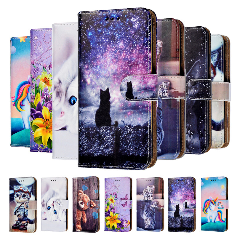 Leather Flip Case For Huawei P9 Lite Case Fundas Soft TPU Back Case For Huawei P9 Lite 2016 vns-l21 vns-l31 Cover Coque