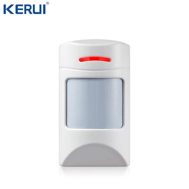 Detector sem fio do movimento pir do animal de estimação 433 mhz imune para a segurança da casa sistema de alarme gsm segurança anti imunidade do animal de estimação