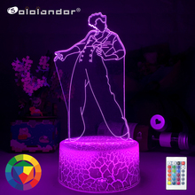 SOLOLANDOR New 3d Night Light lamp Gift for Fans Bedroom Decor Light Led Touch Sensor Color Changing Work Desk Lamp Dropshipping cheap CN(Origin) AYG02-NN-810 Night Lights Plastic LED Bulbs Switch Dry Battery HOLIDAY 0-5W 7 Colors Change Wholesale Price ISO 19001 Quality System