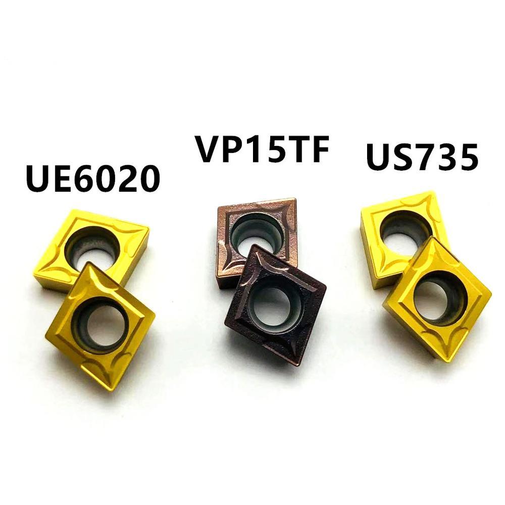 High quality carbide car blade CCMT09T304 VP15TF UE6020 US735 CNC machine tool milling tool CCMT060204 lathe cutting tool