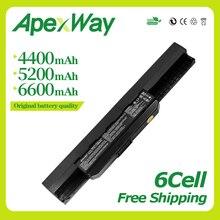 [Special Price] 5200mah New laptop battery A32-K53 A42-K53 for Asus A43 A53 K43 K53 X43 A43B A53B K43B K53B X43B Series 6 cells цены