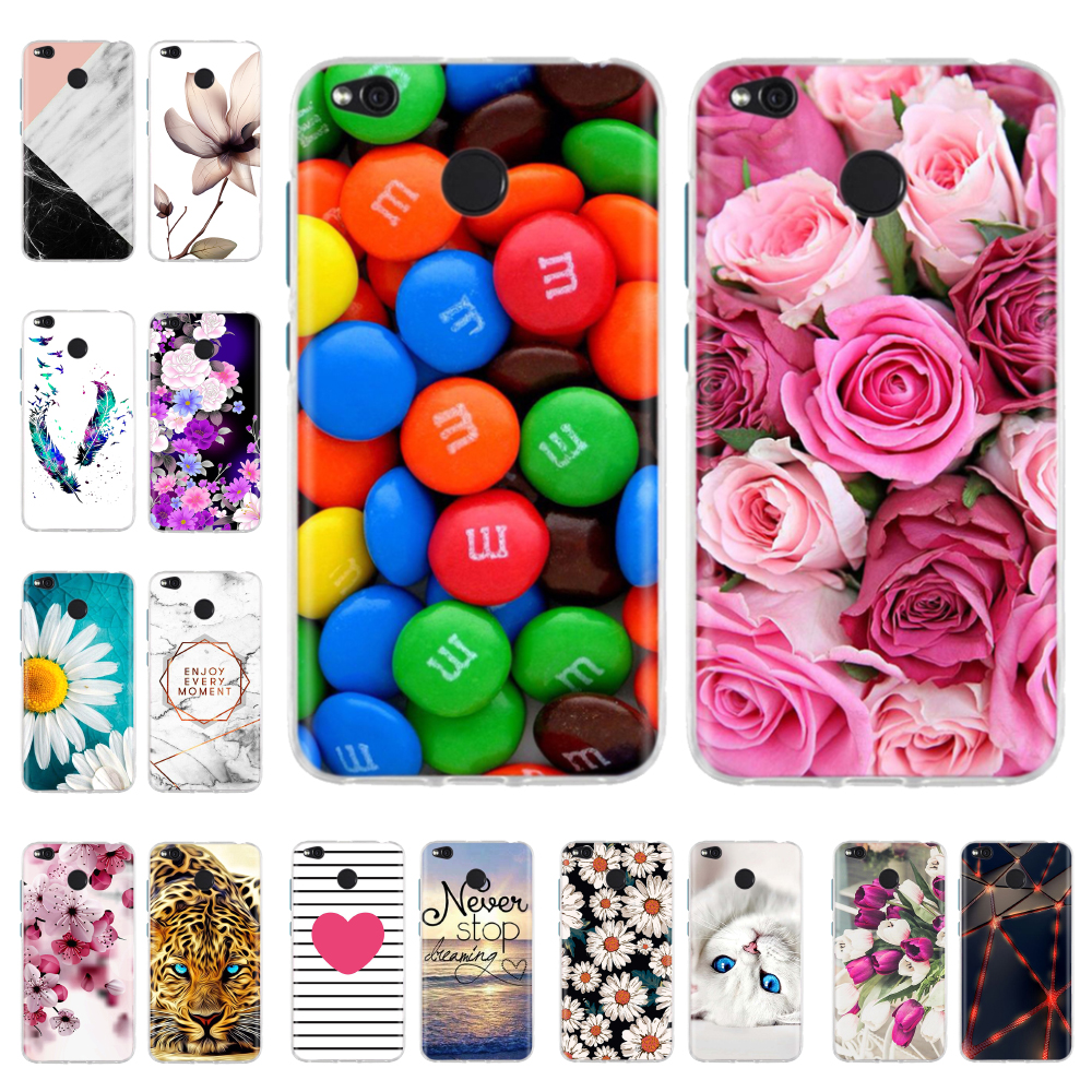 Phone Cases For Xiaomi Redmi 4X Case Cute Silicone Soft TPU Back Cover For Xiomi Redmi 4X Redmi4X Case Hongmi 4X Coque Funda