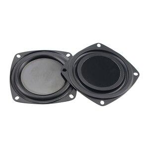 Image 4 - Nouveau 2 pièces 3 pouces 78MM basse radiateur haut parleur passif pour 2 5 pouces maison Bluetooth haut parleurs auxiliaire basse fréquence en caoutchouc bricolage