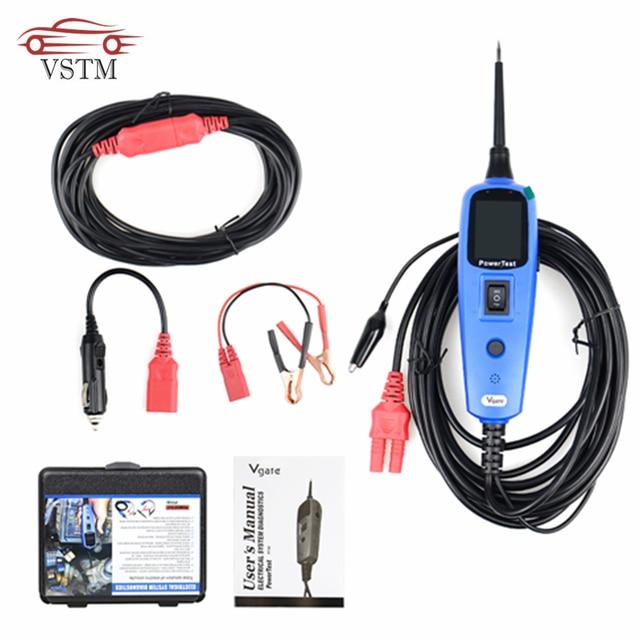 OBDII Scanner 100% Original Vgate PT150 Electrical System Diagnostic Circuit Tester Tool Power Probe Tester PowerScan PT 150