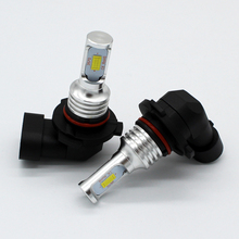 2x 9006 HB4 Led Fog Lamp Bulb Auto Car Motor Truck 72w CSP Chip Driving Running Light DRL 12V 24V led White Yellow