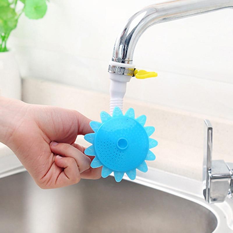 Water-Saving Device Head Easy To Wash Sink 2 Colors Kitchen Faucet Bath Shower Anti SplashVegetables Save Water Adjustable