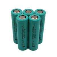 C & P 18650 baterias Li-ion 2000 mAh Descarga atual 20A alta ampliação ferramenta de poder da bateria cigarro eletrônico hookah