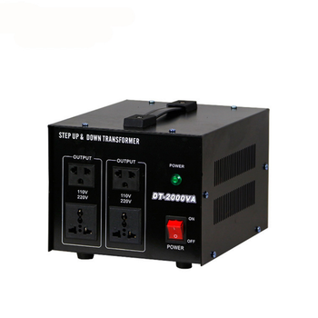 Household dry type transformer 220v to 110v Single phase power transformer Using Chinese electrical appliances abroad