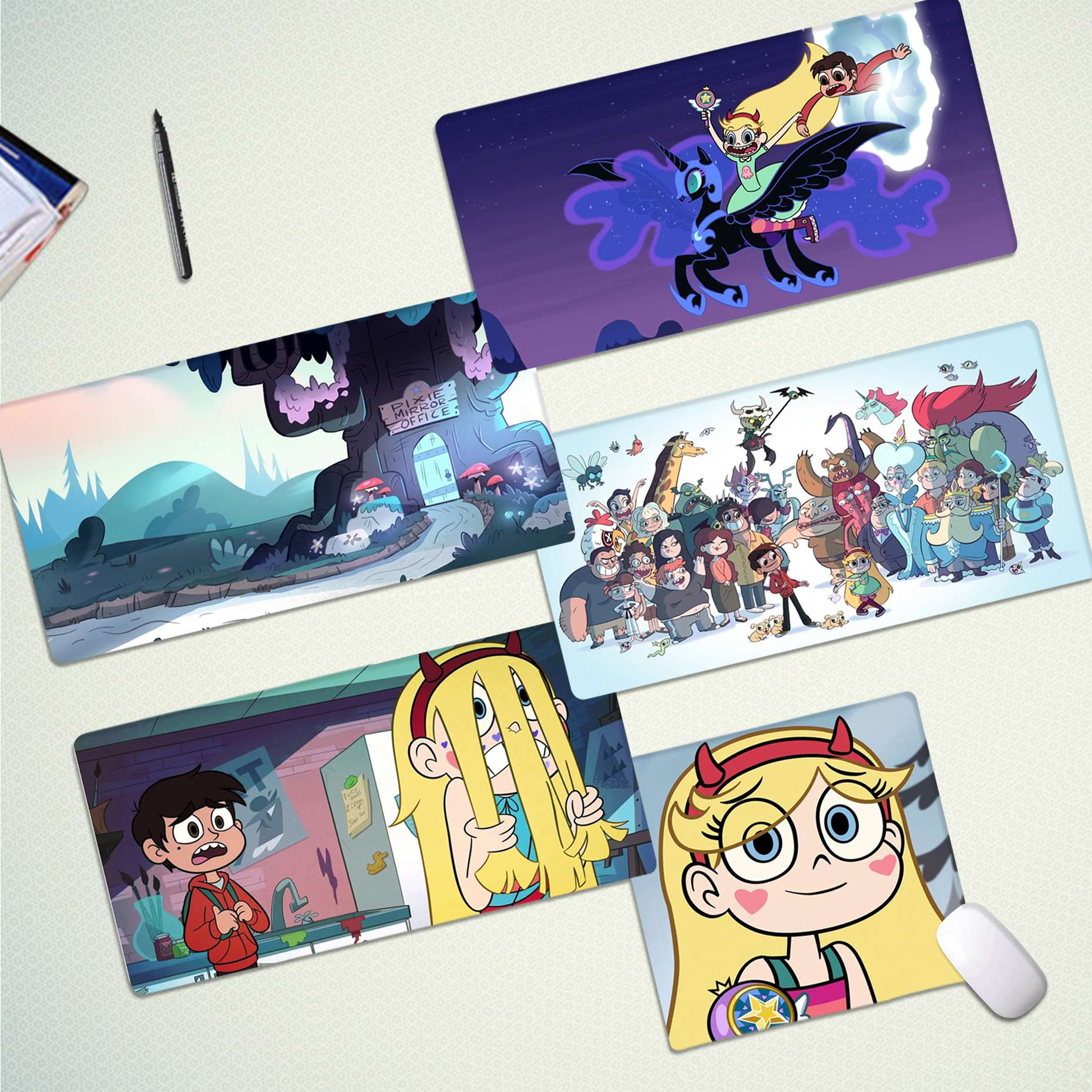 Maiya New Design Anime Star Vs The Forces Of Evil Laptop Computer Mousepad Free Shipping Large Mouse Pad Keyboards Mat
