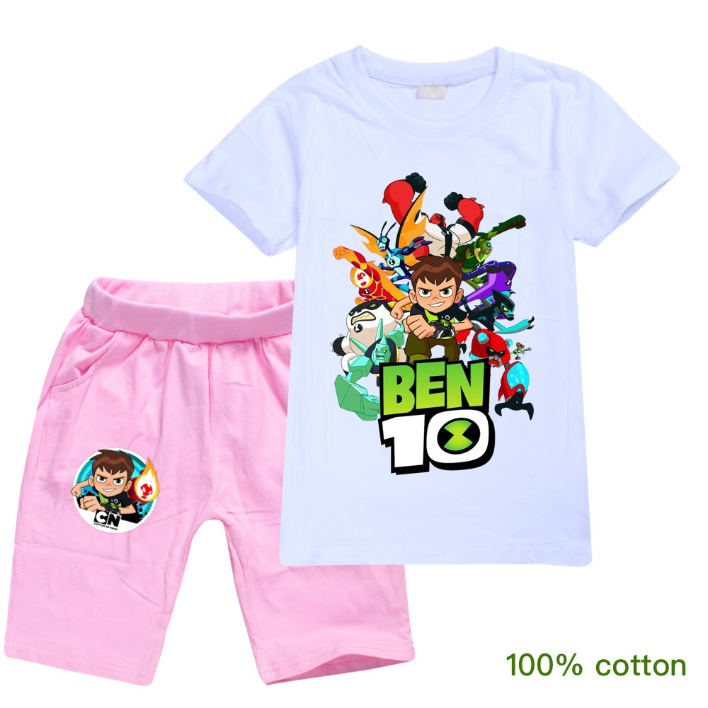 ben10 2019 Summer autumn Boys Pajamas Suits Short Sleeve Kids Pijama Children Pyjama Sets Boys Sleepwear bottom Clothing Unisex 3
