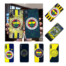 NBDRUICAI Turkey Fenerbahce Football Cover Black Soft Shell Phone Case For Huawei NOVA 2 PLUS 2s 2i 3i 3E 4E 5 5I PRO(China)