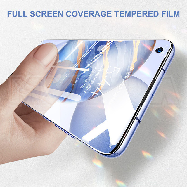 9D Full Protective Glass For Huawei Honor 30 20 10 Lite V30 V20 V10 Tempered Glass Honor 9 8 Lite 30i 20i 10i Screen Protector 2