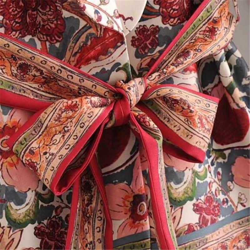 ヴィンテージ女性スーツ花デザイナージャケット + ワイド脚パンツ女性ブレザー生き抜く女性オフィスブレザーコート女性ブレザー
