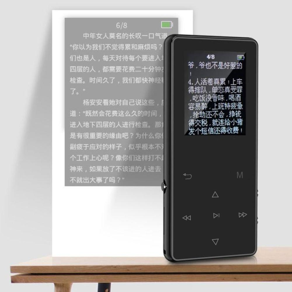 1.8 Inch Screen Mp3 K1 Wireless With Mp3 Student Card Mp4 Music Player 8G Touch Screen Mp3 Music Player