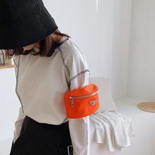 Waist Bags For Women Casual Crossbody Shoulder Bag Nylon Waterproof Bum Bag Arm Pouch Fanny Packs Sports Running Armband Purse tanie tanio kovenly 1056 120cm Stałe Moda Poduszki 12cm Waist pack