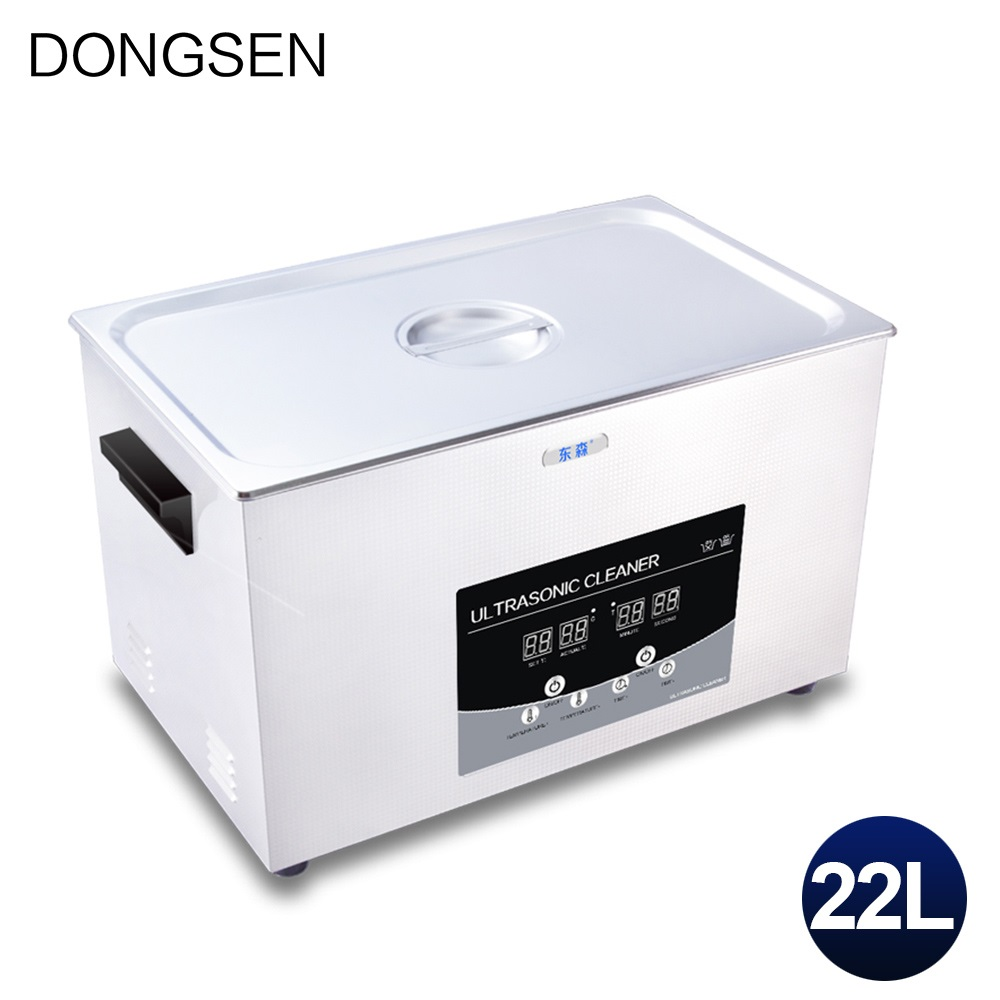 Industrial Ultrasonic Cleaning Machine 22L Hardware Electronic Auto Parts PCB Board Oil Rust Degreasing Ultrasound Cleaner Bath|ultrasonic cleaner|ultrasonic cleaner 22l|ultrasound bath - title=