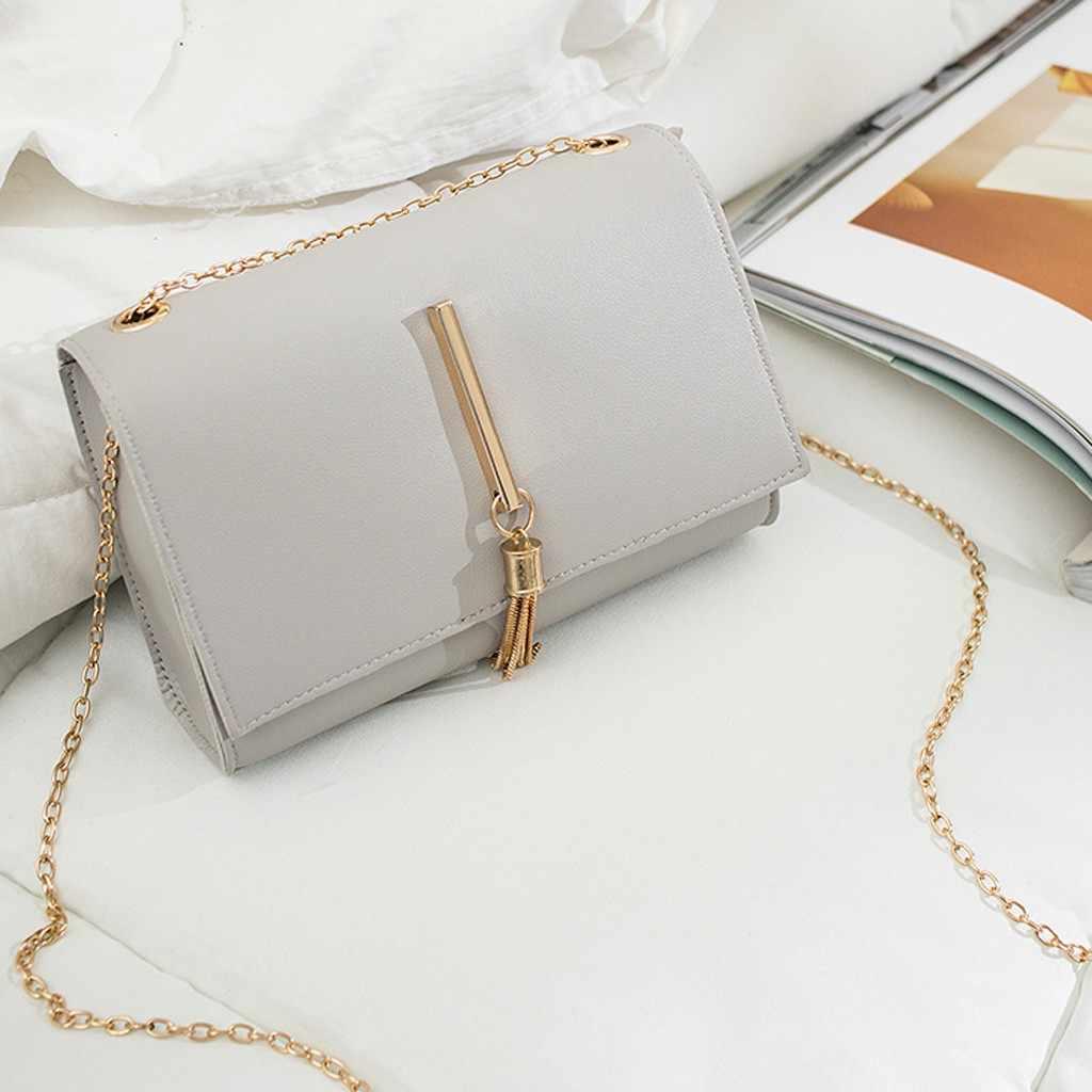 女性の肩タッセルパッケージ手紙財布携帯電話のメッセンジャーバッグ高級大容量革ハンドバッグ #25