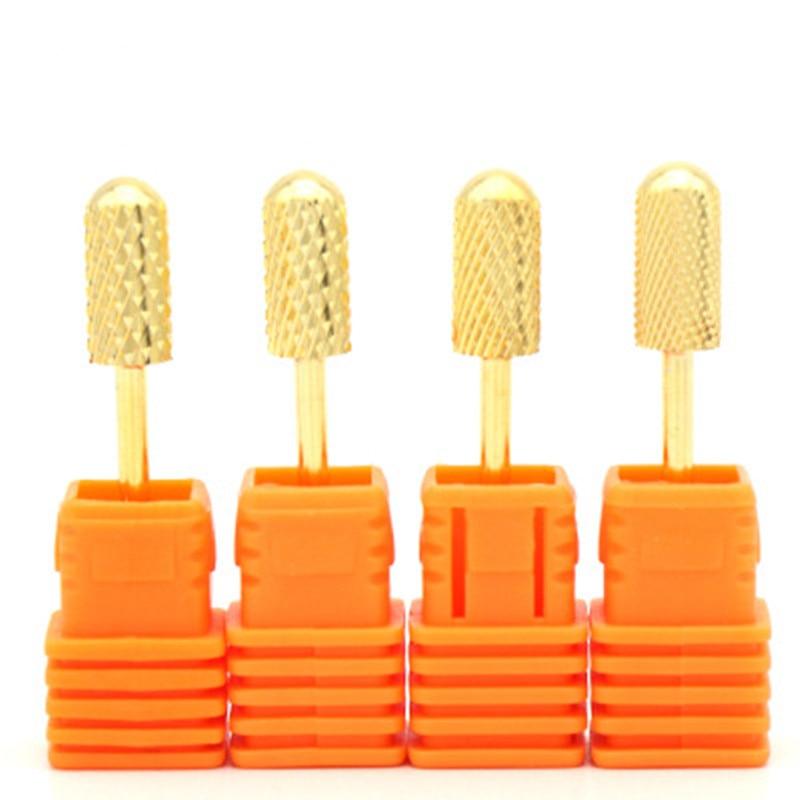 Hot Milling Manicure Machine Carbide Nail Drill Bits Ceramic Carbide Milling Cutters For Manicure Nail Drill Machine Bits