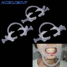 5 шт. Стоматологический материал ортодонтический C Тип прозрачный зуб интраоральный Ретрактор для щек, губ Рот открывалка стоматологический инструмент