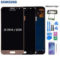 LCD Para Samsung Galaxy J3 2016 J320 J320A J320F J320P J320M J320Y J320FN Screen Display LCD de Toque Digitador