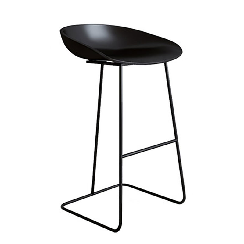 Nordic Bar Simple Household Stand Recreational Backrest Two Kinds Of Sitting Heights And Various Colors