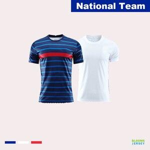 2020 21 Equipe de France de football France National Football Team Kit for Adult Kids Outlet Football Equipment Jerseys