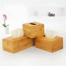 Scatola di fazzoletti di carbone di bambù Vintage tipo di sedile creativo porta rotolo di carta portaoggetti scatola metallica per bagno organizzatore di tovaglioli per il viso