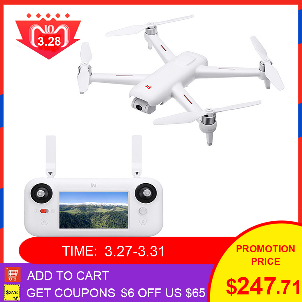 Fast Shipping FIMI A3 Camera RC Drone 5.8G GPS A3 Drone 1KM FPV 25 Mins 2axis Gimbal 1080P Camera RC Quadcopter Drone Toys Gifts