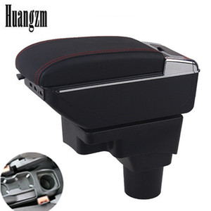 Car Storage Box For Chevrolet Sonic / Aveo 2012 - 2018 Arm Rest Rotatable Armrest Central Content 2014 201