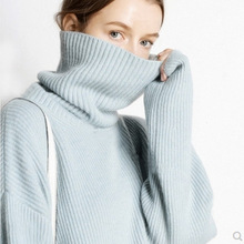 Autumn Winter 5Colors Women Pullover And Sweater Cashmere Knitted Jumpers New Fashion Thick Warm Female Clothes Girl Tops