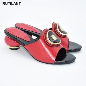 Image 3 - 결혼식을위한 새로운 이탈리아어 하이힐 가을 구두 2020 섹시한 플랫폼 펌프 여성의 이탈리아어 고품질의 아프리카의 결혼식 신발