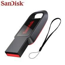 SanDisk CZ61 محرك فلاش USB 2.0 128GB 64GB 32GB 16GB القلم محرك أسود بندريف فلاش حملة دعم التحقق الرسمي