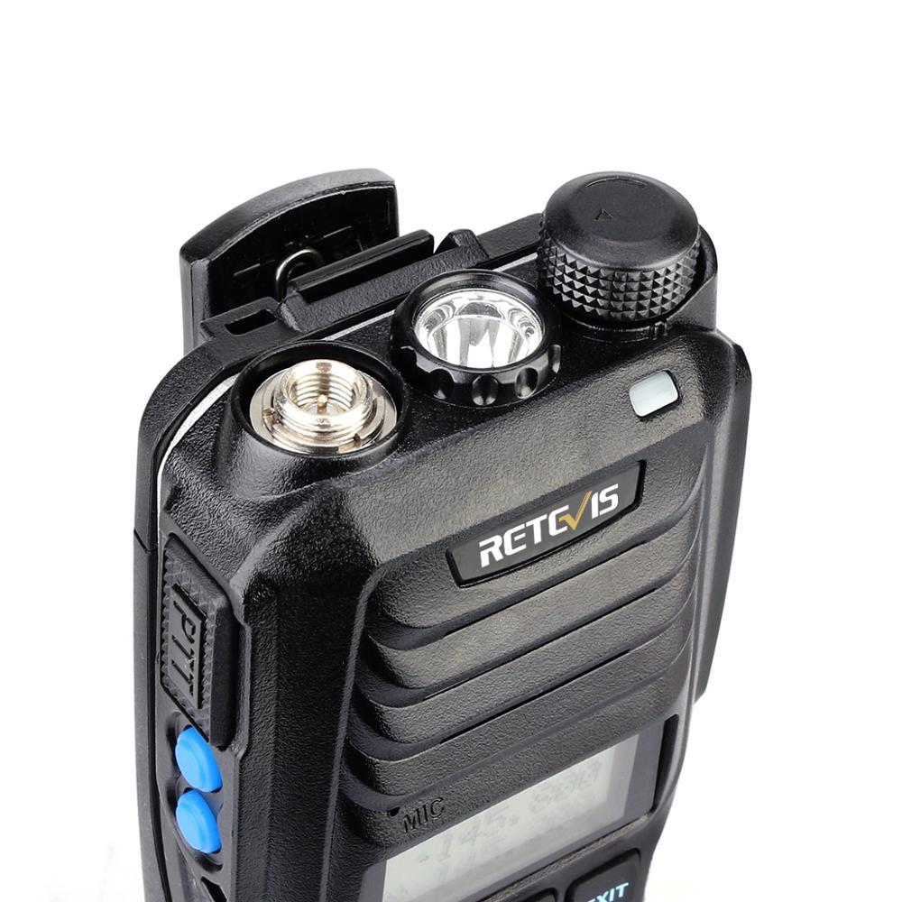 Retevis RT56 Explosion-proof Walkie Talkie Handheld Two-Way Radio Transceiver IP65 Waterproof 3.5W VHF UHF  136-174 & 400-480MHz