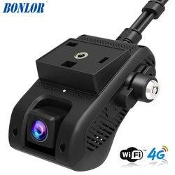 JC400 4G Smart Mobil Pelacakan GPS Dashcam dengan Wifi Hotspot & Dual 1080P Video Rekaman Awan Live SOS alarm dengan Aplikasi Mobile Gratis