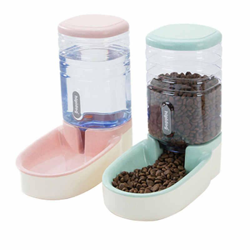 Pet köpek otomatik besleyici kedi köpek otomatik su çeşmesi köpek kase kedi havzası su besleme kombinasyonu chu liang tong