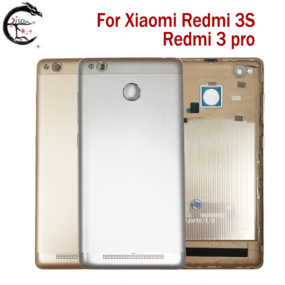 <font><b>Battery</b></font> <font><b>Cover</b></font> For Xiaomi <font><b>Redmi</b></font> <font><b>3S</b></font> / <font><b>Redmi</b></font> 3 pro Phone <font><b>Battery</b></font> Door Back Housing For Xiaomi Redmi3S 3pro Replacement Case Parts image