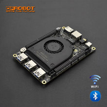 LattePanda AlphaPanda Alpha 800 S DEV BOARD สำหรับ Intel 8th m3-8100y 3.4GHz Dual-Core ATmega32u4 รองรับ Windows Linux ระบุอัตโนมัติ(China)