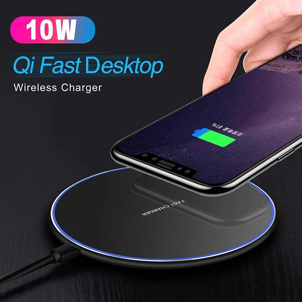 Qi Wireless Charger Usb Cepat Pengisian untuk MOTO Z Droid Turbo 2 DROID 5 MAXX Ultra M Force Xiaomi mix 2 2 S 3 Charger Pad