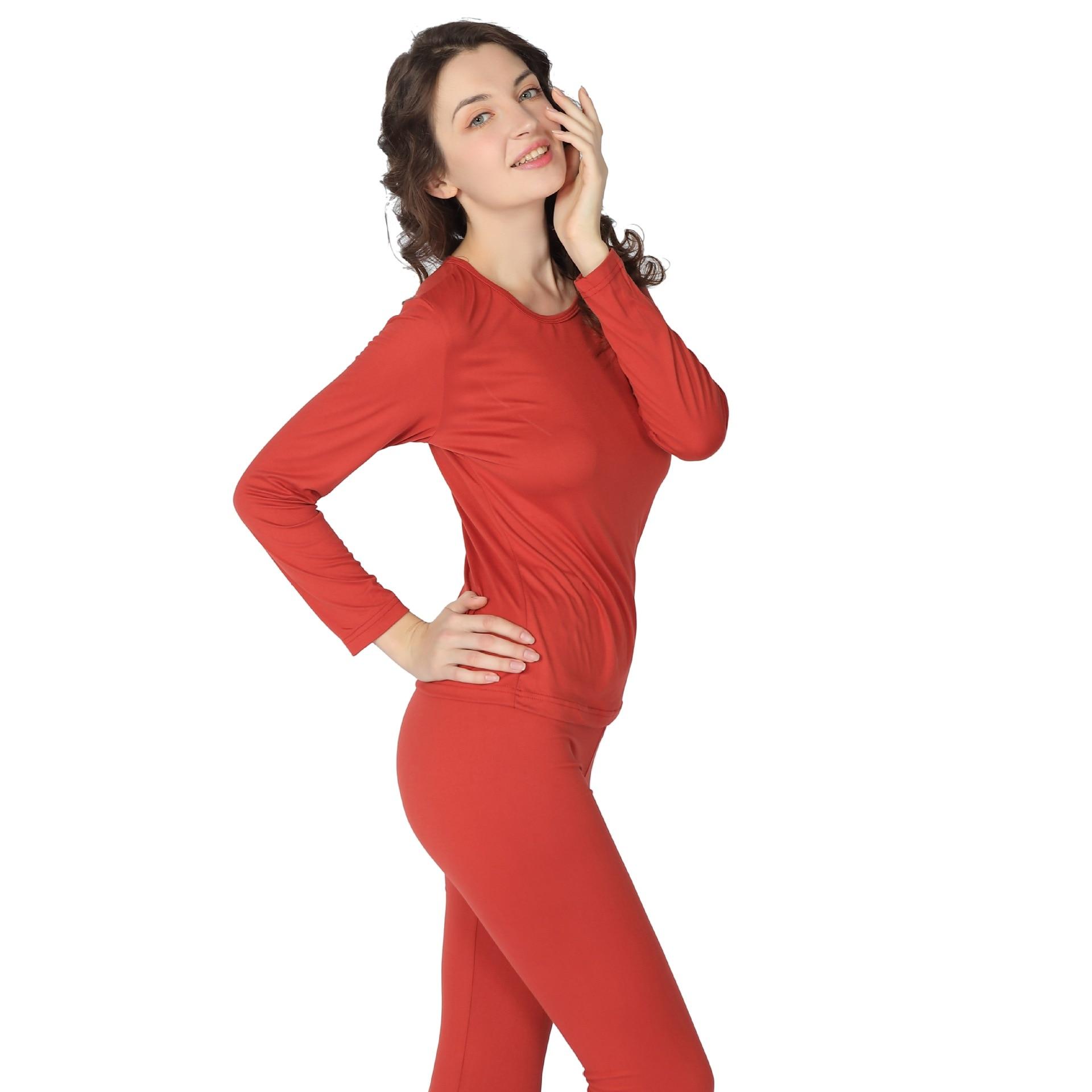 Mais tamanho S 9XL roupa interior térmica mulher long johns para mulher lingerie sexy ternos inverno grosso quente 2 peças conjunto Ceroulas  - AliExpress