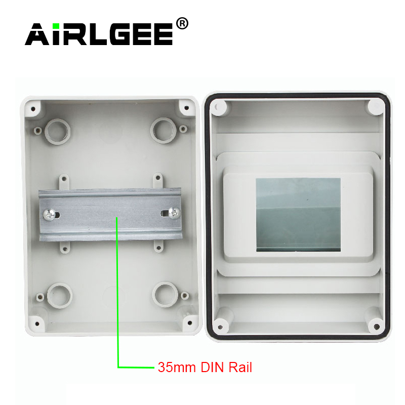 lowest price HT series 5 8 12 15 18 24Ways Household illumination Electrical Distribution Box MCB Waterproof Junction Wire Box ABS PC Plastic