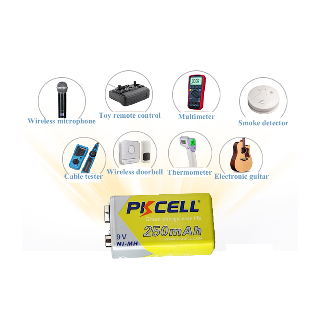 PKCELL 6LR61 E22 MN1604 522 6f22 MN1604